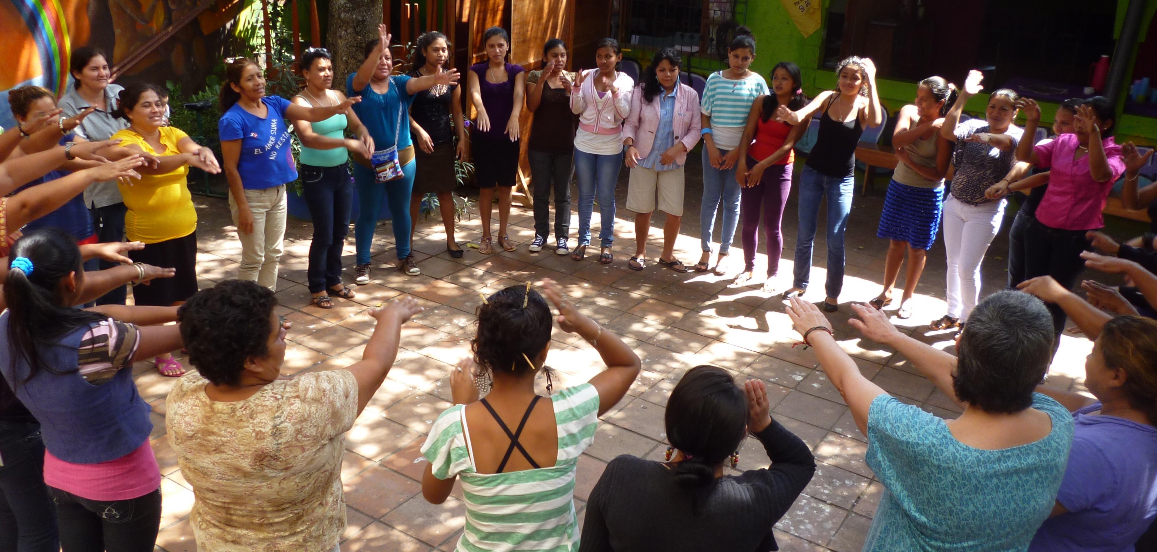 Escuela de género Grupo Venancia