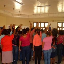 Cierre del I Encuentro entre organizaciones para reflexionar sobre los tipos de violencia