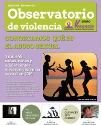 Página que contiene el indice del observatorio de violencia